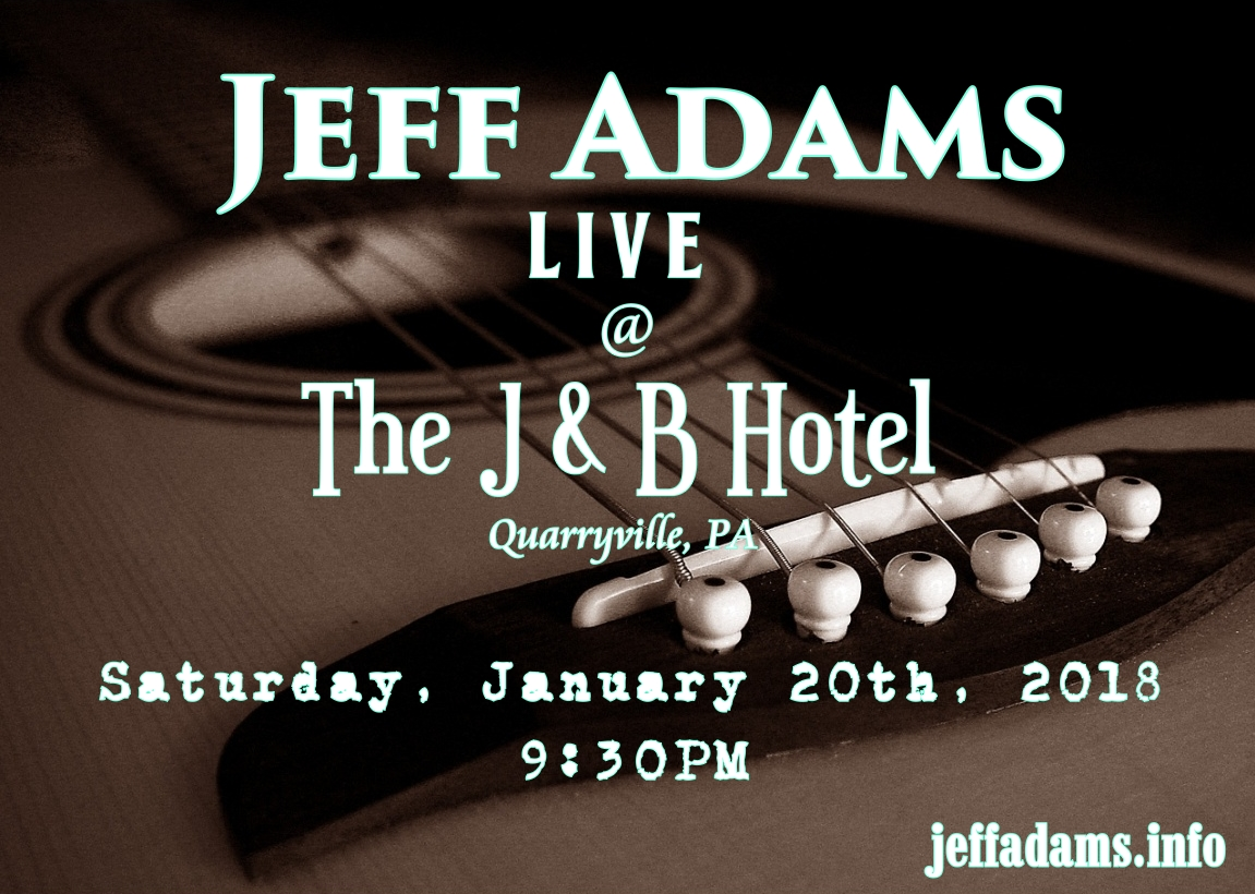 Jeff Adams @ The J & B 12/02